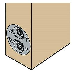 2次元調整戸車の説明画像
