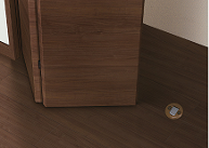 物の出し入れが楽にできる床フラット納まりの説明画像