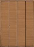 クローゼットドア折れ戸クリエラスクの画像