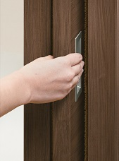 引込み戸指挟み防止の説明画像