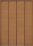 ファミリーラインクローゼットドアの画像