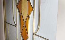 ウッディーラインステンドガラスの画像