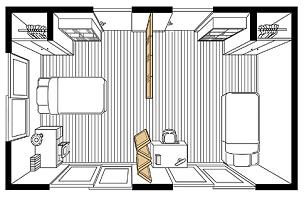 間仕切り戸使用例子供部屋
