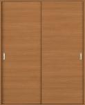 ウッディーラインクローゼットドア引違いタイプの画像