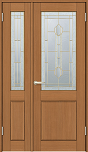 ウッディーライン室内ドア親子ドアの画像