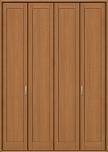 クローゼットドアフリータイプデザインCKCの画像
