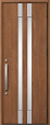 A14型ミディアムチェリー片開きドアの画像
