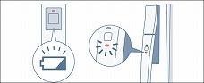 電池容量通知機能のイメージ画像