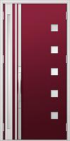 デザインS型ドア種類親子入隅ドアの画像